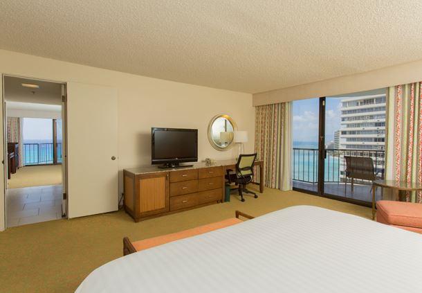 One-Bedroom Suite Bedroom