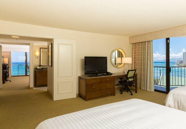 One-Bedroom Queen/Queen Suite - Ocean View