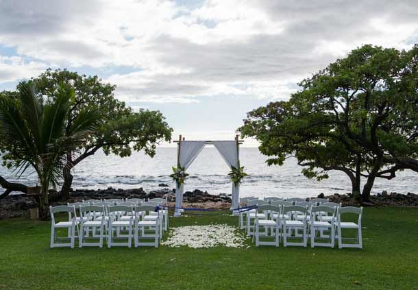 Kahoolawe Lawn - wedding venue