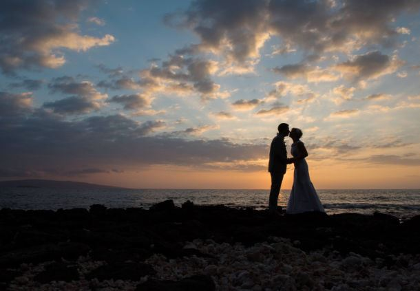 Wailea Wedding - Sunset