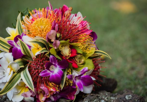 Maui Wedding Florals