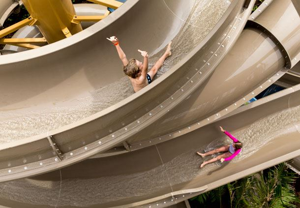 Resort Waterslides