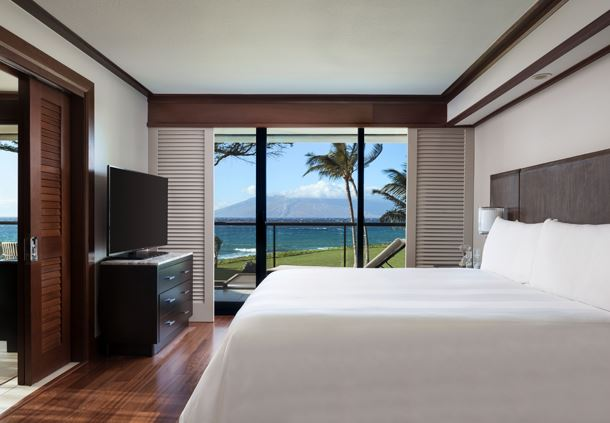 Oceanfront Suite Bedroom