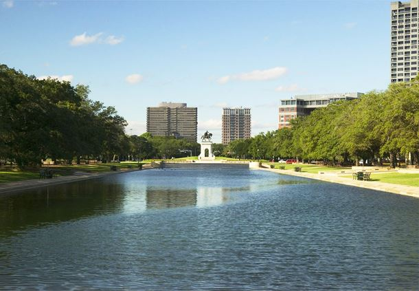 Hermann Park - Jones Reflection Pool
