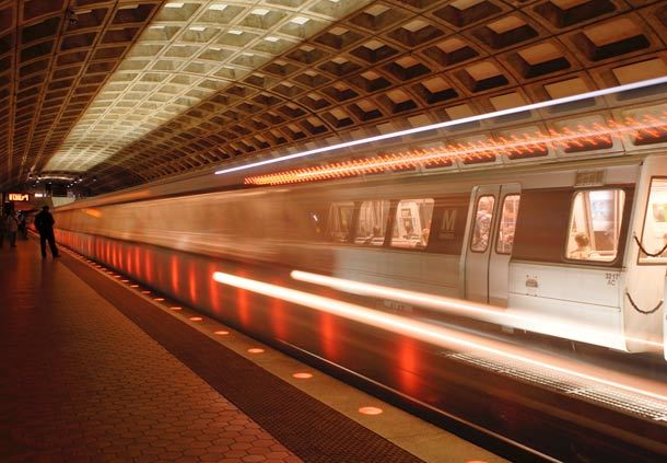 Walk to the Metro