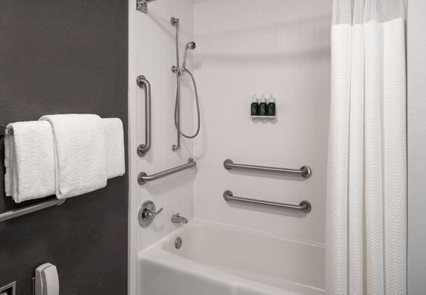 Accessible Guest Room Bathroom - ADA Bathtub