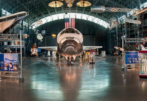 Smithsonian National Air & Space Museum - Steven F. Udvar-Hazy Center