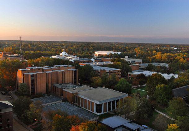 Aerial View of Fairfax Campus