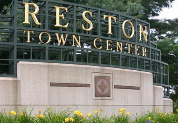 Reston Town Center - Entrance