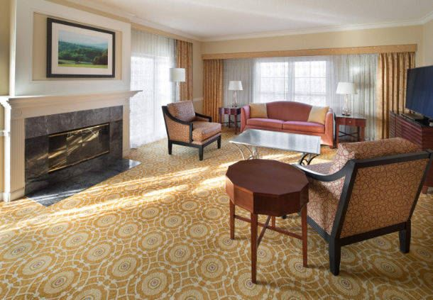 Presidential Suite - Living Area