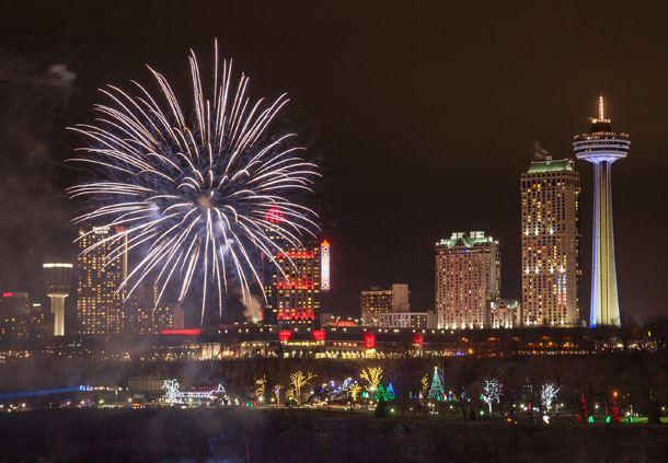 Winter Festival of Lights Fireworks