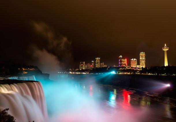 Falls - Skyline Illumination