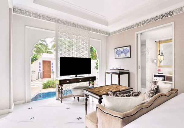 Royal Pool Villa- King Bedroom