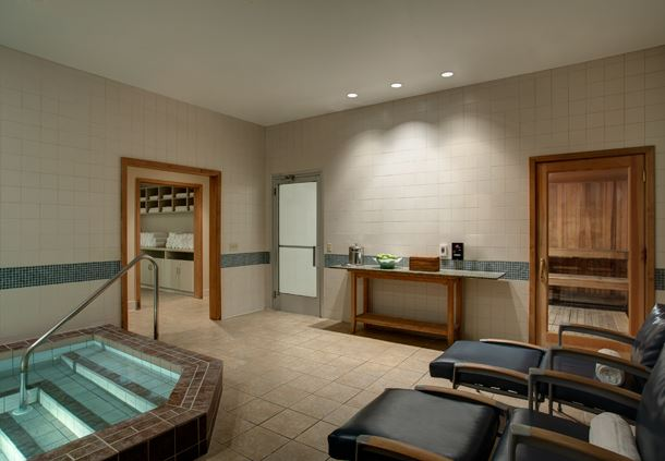 Spa Locker Room Amenities