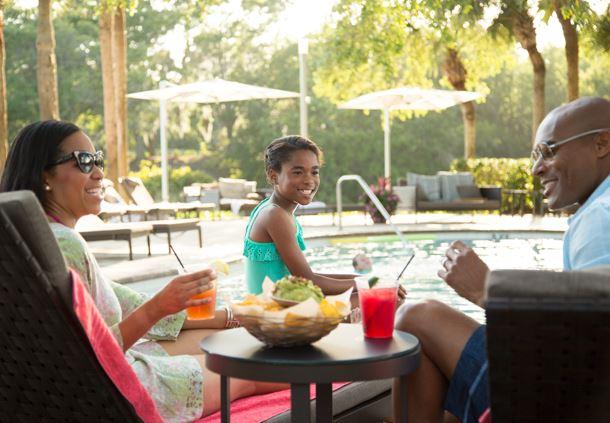 Resort Pool - Dining