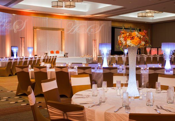 Champions Ballroom - Wedding Reception