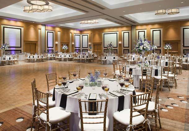 Champions Ballroom - Wedding Setup