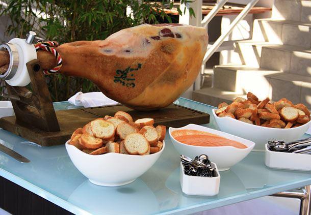 Parma ham booth