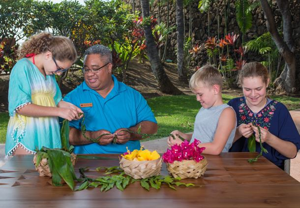 Traditional Flower Lei Crafts