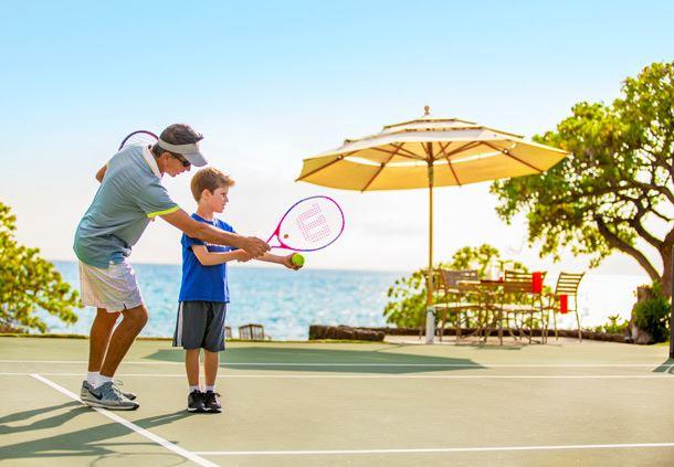 Junior Tennis Lesson