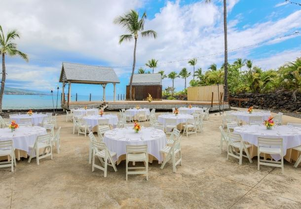 Ocean View Wedding Reception