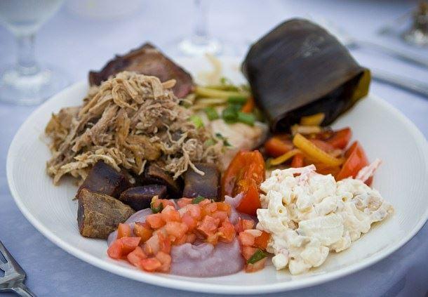 Prix Fixe Hawaiian Buffet