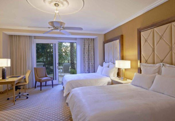 Queen Beds with balcony