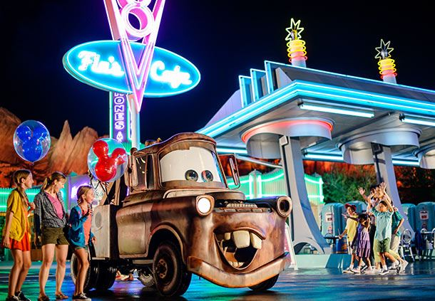 Disney California Adventure® Park - Radiator Spring Racer