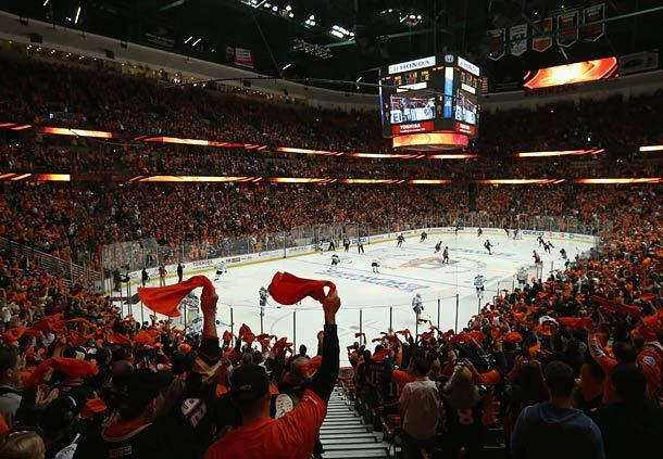 Anaheim Ducks at Honda Center