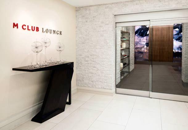 M Club Entrance