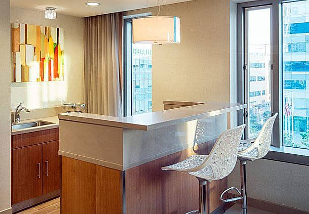 Private Hospitality Suite - Kitchenette