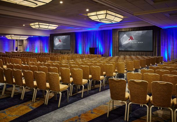 Grand Pacific Ballroom - Theater Setup