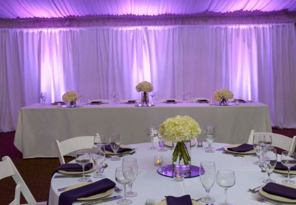Blue Grass Pavilion - Head Table