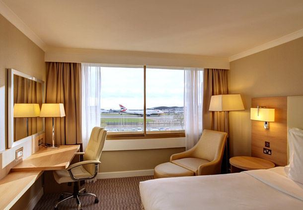 Runway View Guest Room
