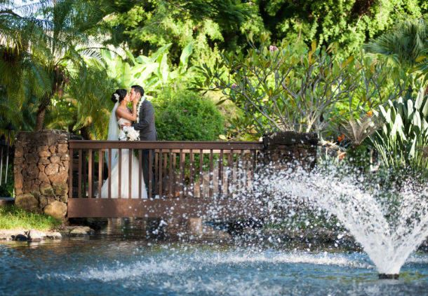 Kauai Marriott Resort Garden Wedding