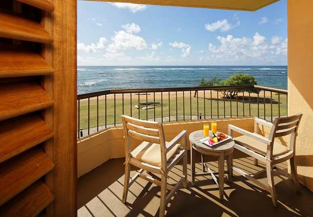 Executive Oceanfront Guest Room - View