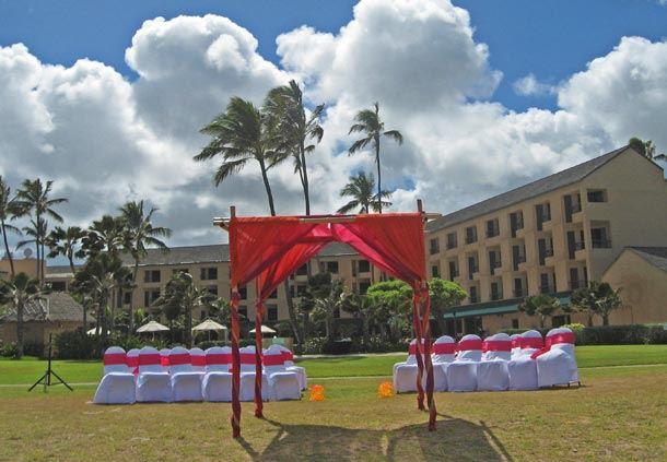 Beach Ceremony Setup