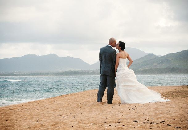 Newlyweds Honeymoon on Kauai