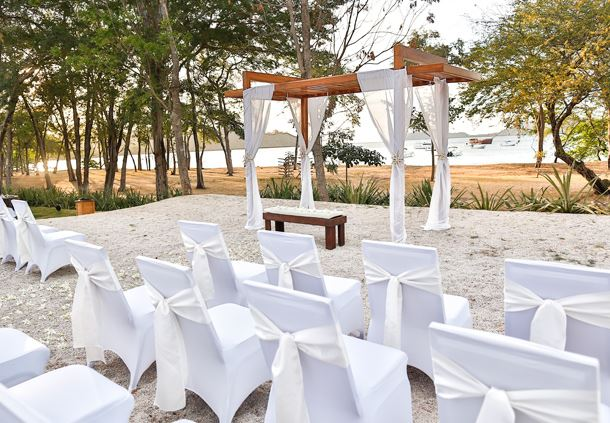 Destination Wedding Set-Up