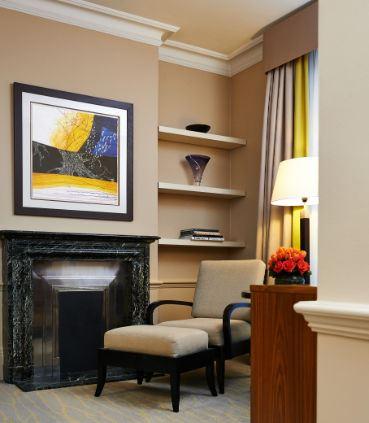 One-Bedroom Suite Living Room