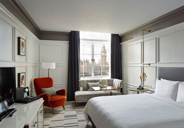 Superior King Guest Room - Big Ben View