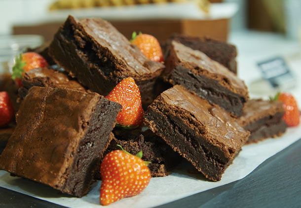 Meeting Catering - Chocolate Brownies