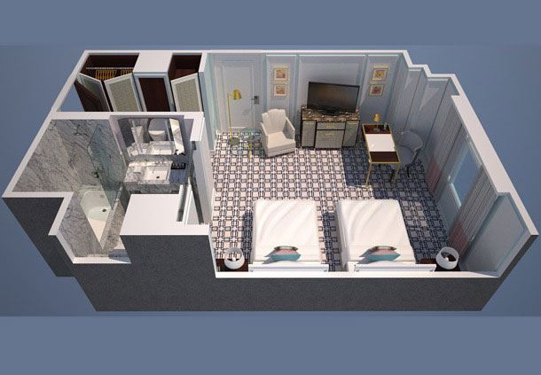 Executive Room Floor Plan