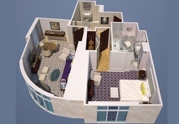 Premier Suite Floor Plan