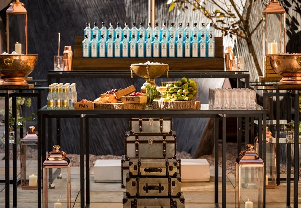 Hansom Hall - Outdoor Terrace Bar