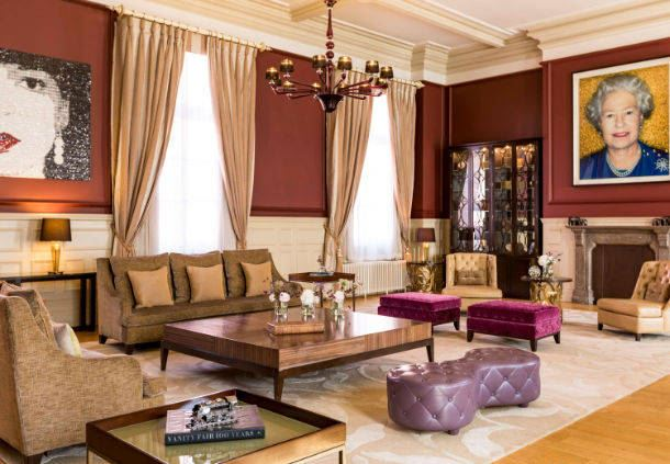 The Royal Suite Living Area
