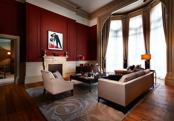 The Haywood Suite Living Room