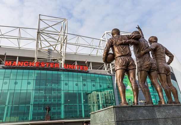 Old Trafford Entrance