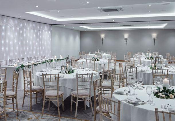 Broxbourne Suite - Wedding Breakfast