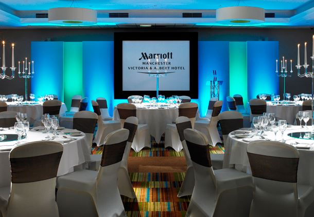 Manchester Marriott Victoria & Albert Hotel Events